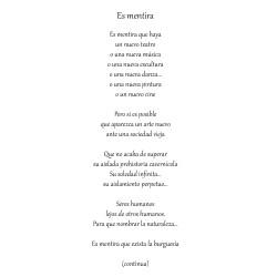 ES MENTIRA